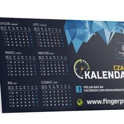 Kalendarz biurkowy nadrukowany - daszek