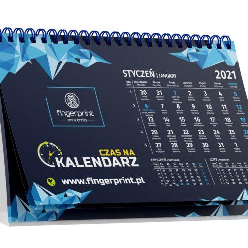 Kalendarz biurkowy wielostronicowy poziomy