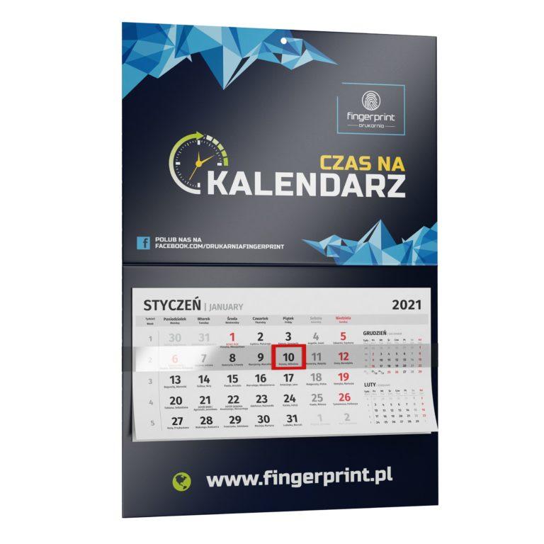 Kalendarze ścienne jednodzielne z nadrukiem