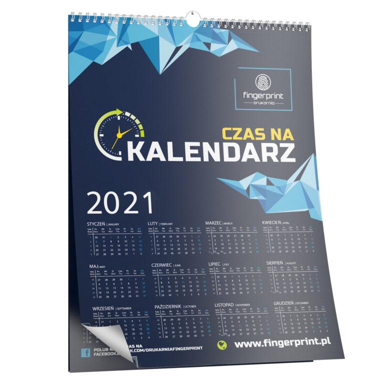 Kalendarze ścienne z nadrukiem